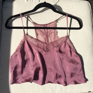 Free People Satin and Lace Brami